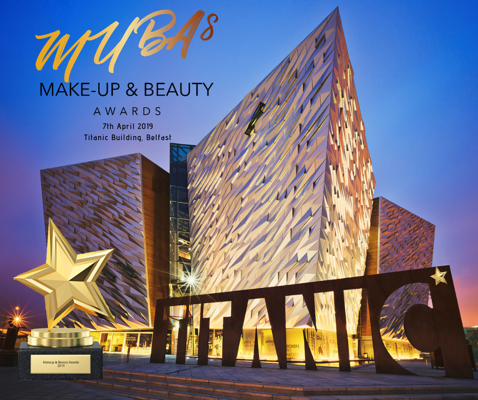 makeup and beauty awards ni 201, titanic building belfast, grainne mccoy