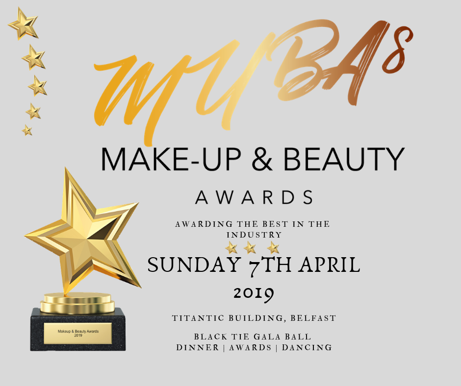 Makeup & Beauty Awards, Grey Background FB Size